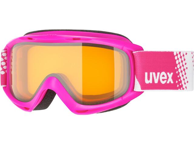 UVEX slider Enfant, pink/lasergold lite